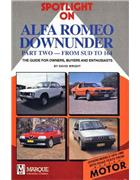Spotlight on Alfa Romeo Downunder 1973 - 1992 - Front Cover