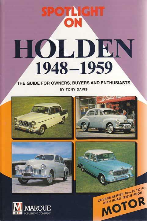 Spotlight on Holden 1948 - 1959