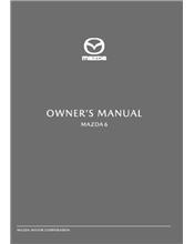 Mazda6 03/18 Owners Manual