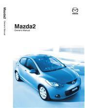 Mazda2 10/2008 Owners Manual