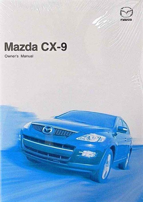 Mazda CX-9 07/2008 Owners Manual