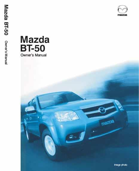 Mazda BT50 10/2008 Owners Manual