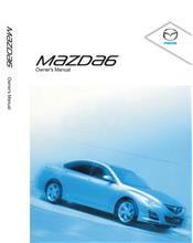Mazda6 01/2010 Owners Manual