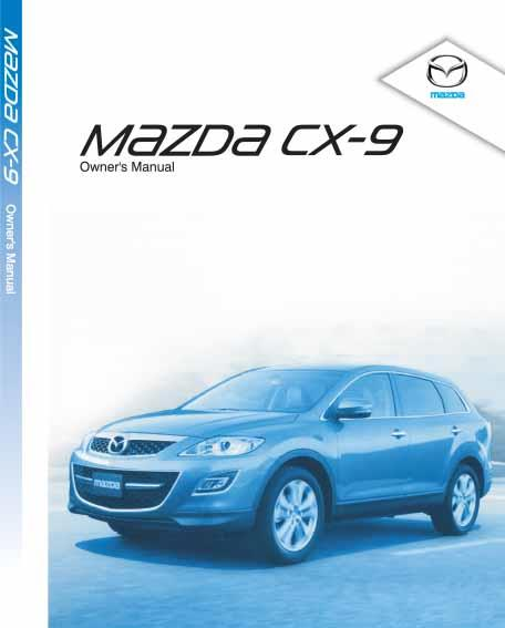 Mazda CX-9 05/2011 Owners Manual