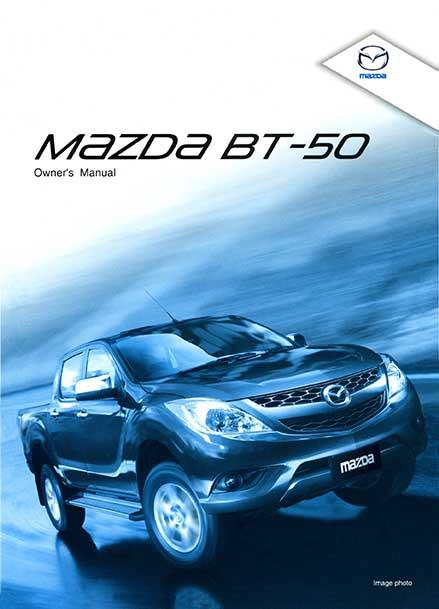 Mazda BT50 02/2012 Owners Manual - Front Cover
