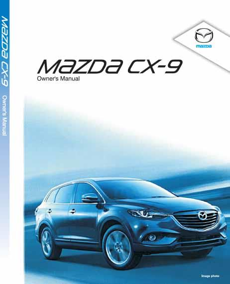 Mazda CX-9 09/2012 Owners Manual
