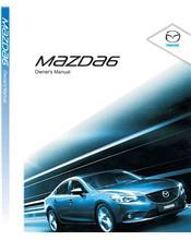 Mazda6 06/2013 Owners Manual