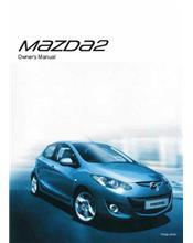 Mazda2 12/2013 Owners Manual