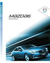 Mazda6 01/2014 Owners Manual