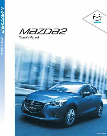 Mazda2 08/2014 Owners Manual - Front Cover