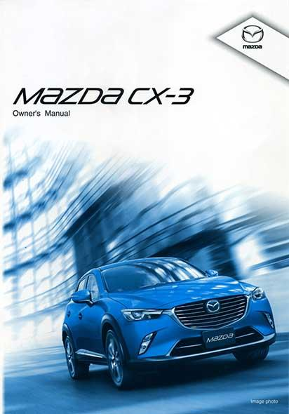 Mazda CX-3 01/2015 Owners Manual