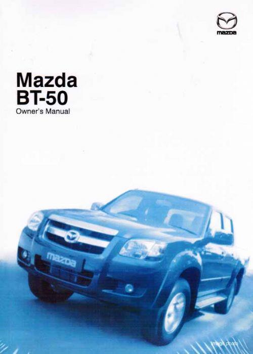 Mazda BT50 10/2014 Owners Manual - Front Cover
