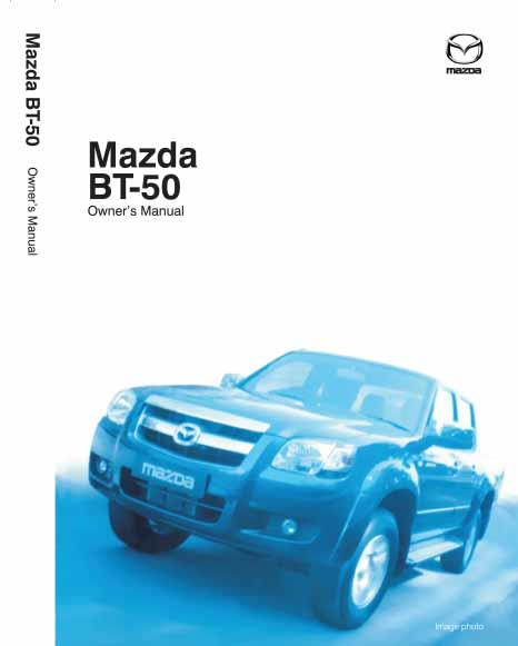 Mazda BT50 07/2015 Owners Manual - Front Cover