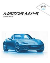 Mazda MX5 ND 10/2015 Owners Manual
