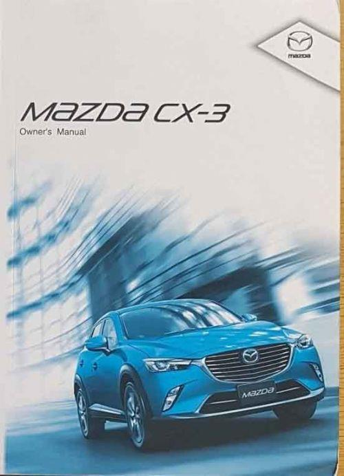 Mazda CX-3 11/2015 Owners Manual