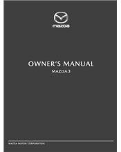 Mazda3 01/2019 Owners Manual