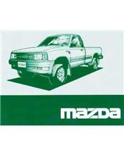 Mazda B Series 01/1996 Owners Manual