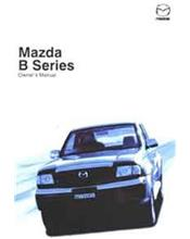 Mazda B Series 08/2002 Owners Manual