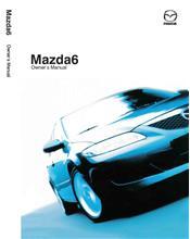Mazda6 07/2003 Owners Manual