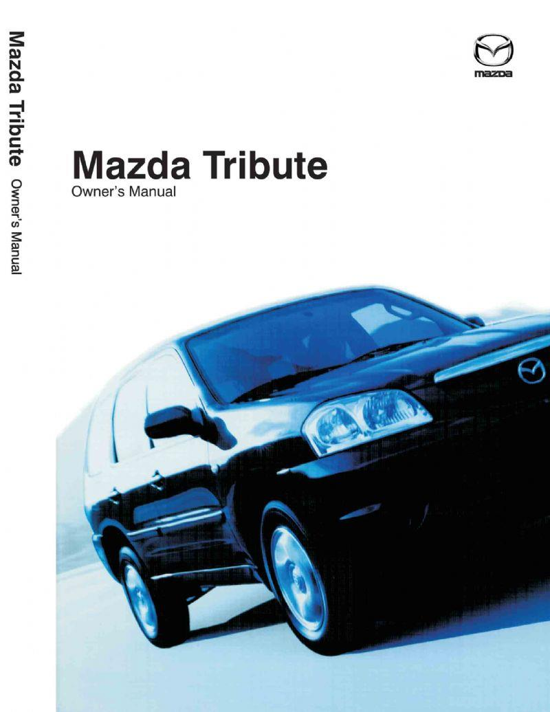 Mazda Tribute 11/2003 Owners Manual