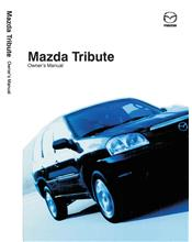 Mazda Tribute 11/2003 Owners Manual