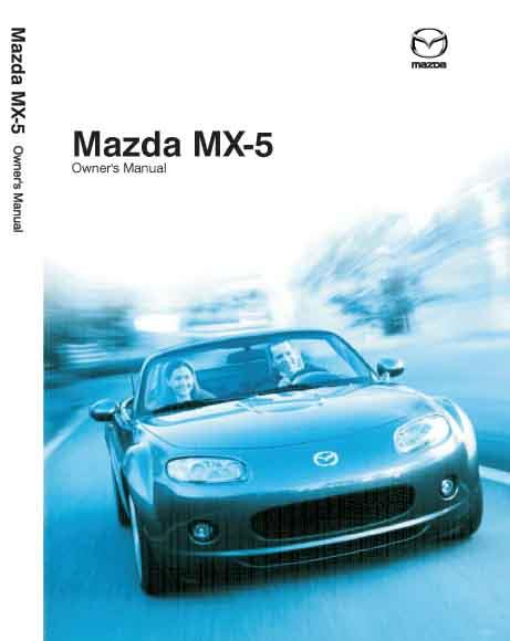 Mazda MX-5 NB 12/2003 Owners Manual - Front Cover