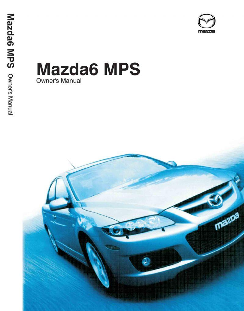 Mazda6 07/2005 MPS Owners Manual