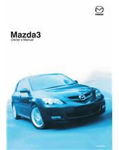 Mazda3 07/2007 Owners Manual