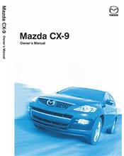 Mazda CX-9 10/2007 Owners Manual