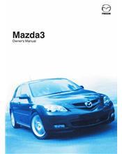 Mazda3 01/2008 Owners Manual