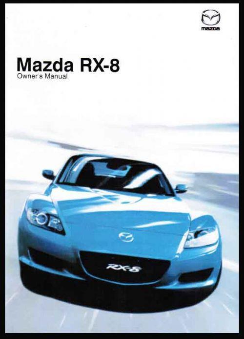 Mazda RX-8 04/2008 Owners Manual