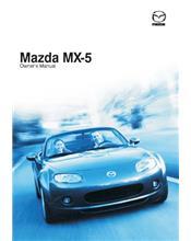 Mazda MX5 NC 09/2007 Owners Manual