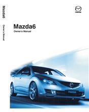 Mazda6 10/2008 Owners Manual