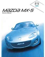 Mazda MX-5 NC 12/2008 Owners Manual