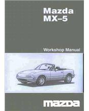 Mazda MX-5 NB 12/2003 Factory Workshop Manual Supplement