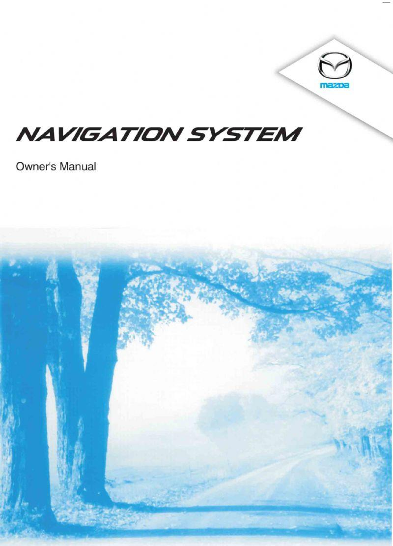 Mazda6 11/2014 Navigation Owners Manual