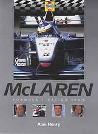 McLaren Formula 1 Racing Team - Front Cover