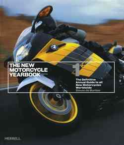 The New Motorcycle Yearbook Volume 1 - Front Cover