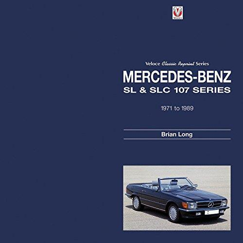 Mercedes-Benz SL & SLC 107 Series 1971 - 1989 - Front Cover