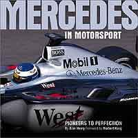 Mercedes in Motorsport - Front Cover