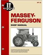 Massey Ferguson 1974 - 1982 Tractor Owners Service & Repair Manual