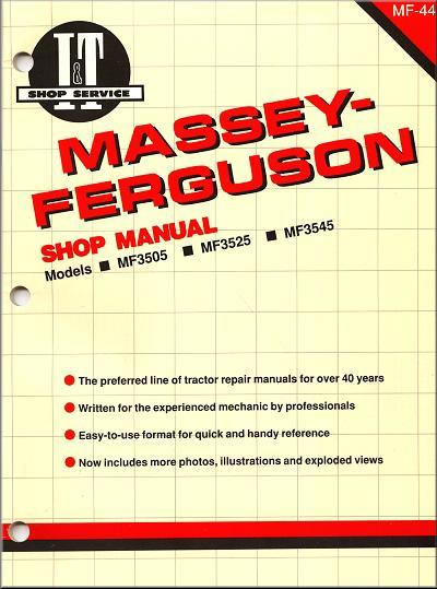 Massey Ferguson (Diesel) Farm Tractor Owners Service & Repair Manual