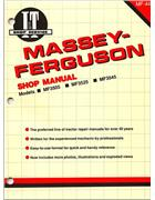 Massey Ferguson (Diesel) Farm Tractor Owners Service & Repair Manual - Front Cover