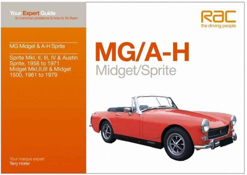 MG / A-H Midget Sprite - Front Cover