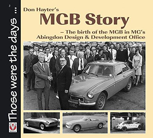 Don Hayter's MGB Story - Front Cover
