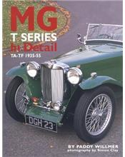 MG T Series In Detail TA - TF 1935 - 1955