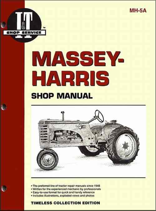 Massey Harris Petrol, Diesel & LP Gas Farm Tractor Owners Service Repair Manual - Front Cover