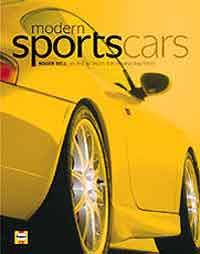 Modern Sports Cars - Front Cover