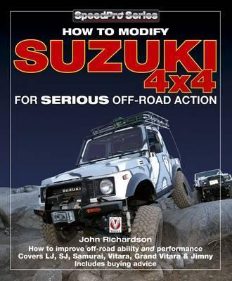 Modifying Suzuki 4x4 for Serious Offroad Action - Front Cover