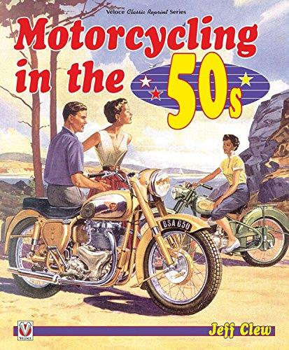 Motorcycling in the '50s - Front Cover